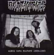 AGATHOCLES -CD- Mince Core History 1989 - 1993
