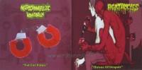 AGATHOCLES / NECROCANNIBALISTIC VOMITORIUM -CD Split-