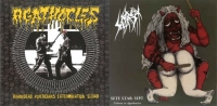 AGATHOCLES / SETE STAR SEPT - split 7'' EP - Braindead Politicians Extermination Squad / Tribute To Agathocles