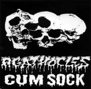 AGATHOCLES / CUM SOCK - 7'' split EP -