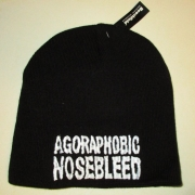 AGORAPHOBIC NOSEBLEED - Logo Beanie
