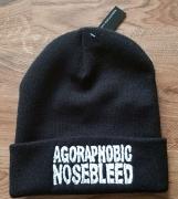 AGORAPHOBIC NOSEBLEED - Logo original cuffed Beanie