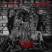 "AKERBELTZ / WAFFENTRÄGER LUCIFERS / NEBRUS -CD Split- 3 Way ""Slaughtered Whores of Satan"""