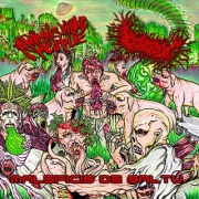 ANNIMALS KILLING PEOPLE / GOREPOT - split CD - Maleficis de Saltu (Sorcery Of The Jungle)
