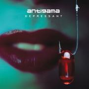 ANTIGAMA - 12'' MLP - Depressant (White marbeled Vinyl)