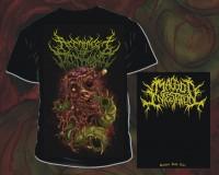 ARCHITECT OF DISSONANCE - Maggot Infestation - T-Shirt size XL