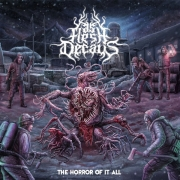 AS FLESH DECAYS - CD - The Horror Of It All  + Sinister EP