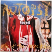 AUTOPSY - Gatefold 12'' LP - Act of Unspeakable
