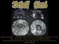 """BEHALF FIEND -12"""" Picture LP- The Eternal Legacy of Behalf Fiend"""
