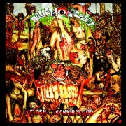 BLUE HOLOCAUST - CD - Flesh For The Cannibal God