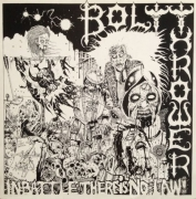BOLT THROWER - Gatefold 12'' LP -  In Battle There Is No Law!