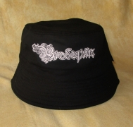 BRODEQUIN - Reversible Bucket Hat - Black/Light Grey - SIZE S/M