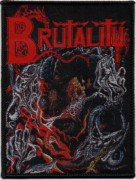 BRUTALITY - Screams of Anguish - Woven Patch