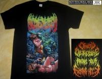 BÖSEDEATH - Cthulu Clothesline - T-Shirt Größe XXL