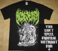 BÖSEDEATH - You Can't Spell Funeral Without Fun - T-Shirt size XL