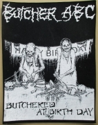 BUTCHER ABC - Butchered at Birthday - Backpatch