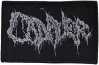 CADAVER - woven Logo Patch