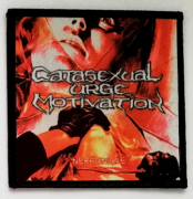 CATASEXUAL URGE MOTIVATION - Nekronicle - printed Patch