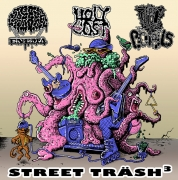 "V/A: ""Street Träsh³"" - split CD - CEREBRAL ENEMA / HOLY COST / TPF/PIGTAILS"