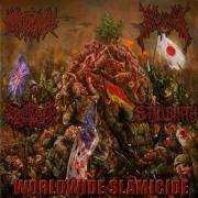 "CREPITATION / SPLATTERED / GOREVENT / STILLBIRTH - 4way split CD - ""WORLDWIDE SLAMICIDE"""