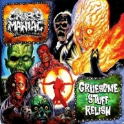 "GRUESOME STUFF RELISH / CROPSY MANIAC - split 7"" EP - (various colors)"