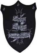 DARKENED NOCTURN SLAUGHTERCULT - woven Patch