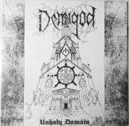 "DEMIGOD - 12"" LP - Unholy Domain (Black/White Cover / Silver Vinyl)"