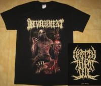 DEVOURMENT - I Watch Them Die - T-Shirt - Größe XL