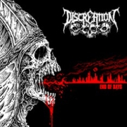 DISCREATION - 12'' LP - End Of Days (red Vinyl)