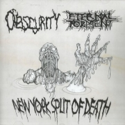 ETERNAL TORMENT / OBSCURITY - CD - New York Split of Death