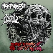 EXPURGO / NUCLEAR HOLOCAUST - split 12'' LP - Deadly Remains Of The Root Of All Evil