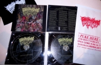 GOLEM OF GORE - 2 CD - Stages of Human Decomposition - compilation 2018-2020 (incl. Patch and Vomit-Bag)
