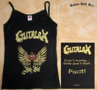 GUTALAX - Holy Shit - Girlie Spaghetti Top size L