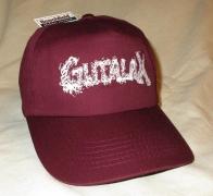 GUTALAX - burgundy Baseball Cap - white Logo