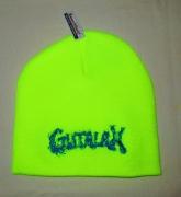 GUTALAX - savty yellow Beanie - blue Logo