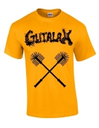 GUTALAX - toilet brushes - gold T-Shirt size XXL