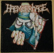 HAEMORRHAGE - color printed Patch - open Wound