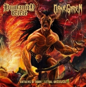 HUMANITY DELETE / CARNAL GARDEN - CD - Anthems Of Doom - Lethal Onslaught
