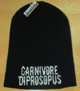 CARNIVORE DIPROSOPUS - neues logo weiß - Beanie