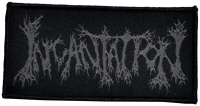 INCANTATION - Logo - woven Patch