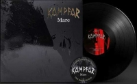 KAMPFAR - 12'' LP + Patch - Mare