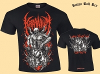 KRAANIUM - Larva Infested Cum Sluts - T-Shirt (Red)