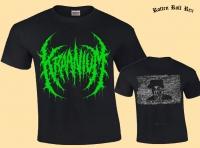 KRAANIUM - Rest in Power - green Logo T-Shirt