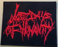 LAST DAYS OF HUMANITY - Logo - embroidered Patch