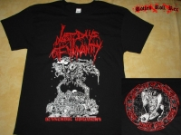 LAST DAYS OF HUMANITY - Oldschool Goregrind - T-Shirt size XL