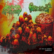 LAST DAYS OF HUMANITY / PORNOCAUST - split CD -