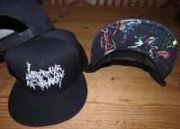 LAST DAYS OF HUMANITY - embroidered logo - Snapback Baseball Cap