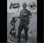 LAST DAYS OF HUMANITY / WARSCARS - split shape CD