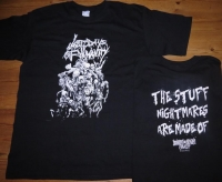 LAST DAYS OF HUMANITY - The stuff nightmares are made of - T-Shirt Size XL