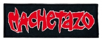 MACHETAZO - embroidered logo Patch